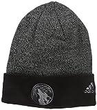 NBA Milwaukee Bucks Fanwear Cuffed Pom Knit , One Size ,Black