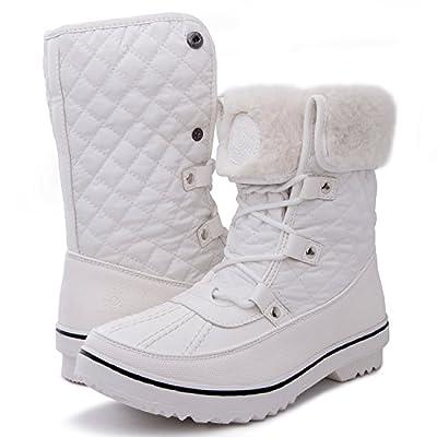 Globalwin Women's 1706 Winter Snow Boots