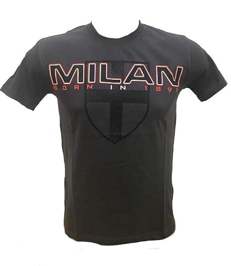 Camiseta de Manga Corta para Hombre A.C. Milan Camiseta de fútbol ...