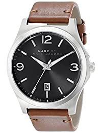 Marc by Marc Jacobs Men's MBM5039 Danny Stainless Steel Watch with Brown-Leather Band