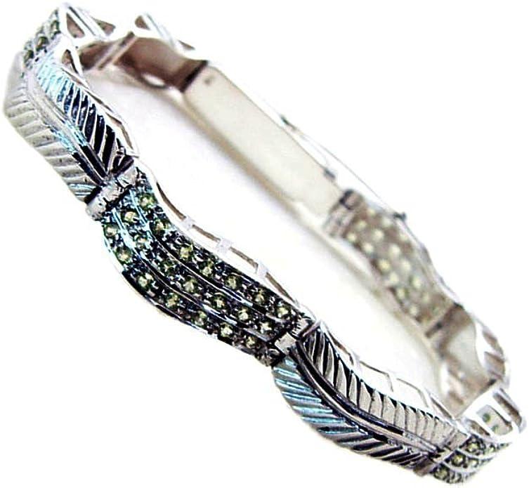 Ethnic Handmade .925 Silver Plated Oxidized Semi Precious Stone Jhumki Earring GS86