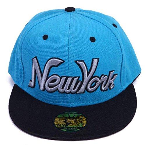 Underground Kulture Empire Black & Electric Blue Snapback Cap (Electric New Era Hat compare prices)