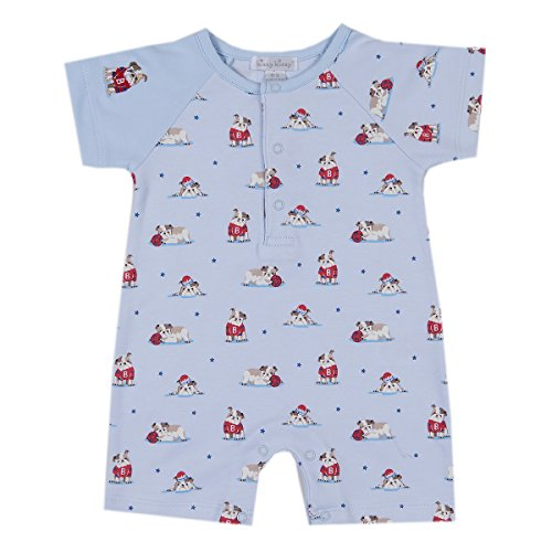 Kissy Kissy Baby-Boys Infant Burly Bulldogs Print Short Playsuit