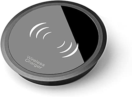 Amazon.com: Cargador inalámbrico, mini portátil de metal con ...