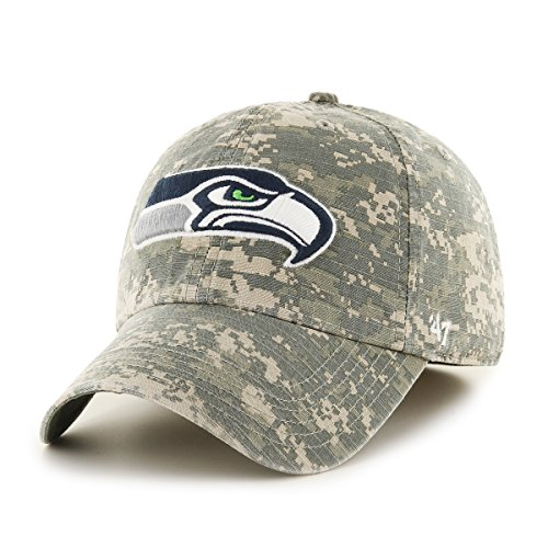 Fitted Seattle Seahawks Hat - 2