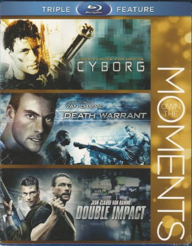 Blu-ray Triple Feature: Cyborg (1989) / Death Warrant (1990) / Double Impact (1991) [Blu-ray] - Jean-Claude Van Damme, Cynthia Gibb, Robert Gullaume (2012 - Blu-ray)