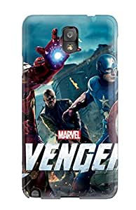 Fashion Tpu Case For Galaxy Note 3- The Avengers 33 Defender Case Cover