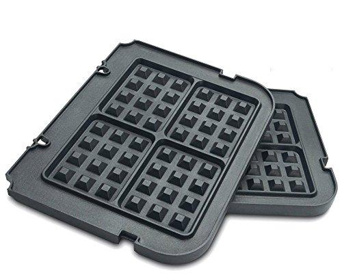 Paksh / Cuisinart GR-WAFP Non Stick Waffle Maker Removable Plates for Griddler