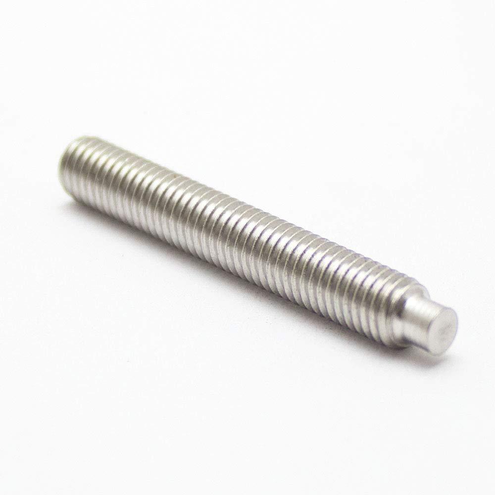 - Madenschraube 1 St/ück Gewindestift V2A DIN 915 m Zapfen M8 X 50 Edelstahl A2