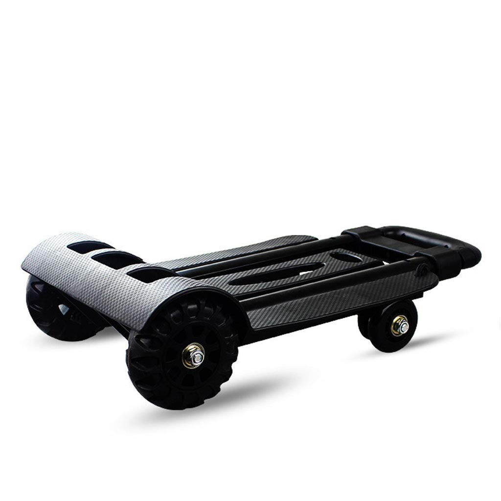 Karren Auto. 1998601 4 Der Einkaufswagen Tragbare Und Gepäck Fahrer Ziehen Karren Rad