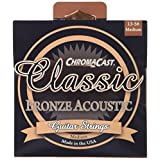 ChromaCast Classic Bronze Medium Gauge(.013-.056) Acoustic Guitar Strings