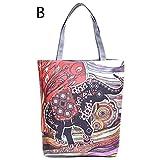 GSYDXKB Large Capacity Shoulder Canvas Tote Bag