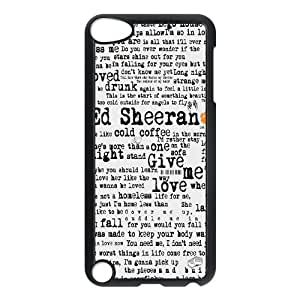 Ed Sheeran Design Cheap Custom Hard Case Cover for iPod Touch 5, Ed Sheeran iPod Touch 5 Case