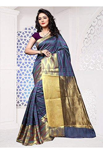 Da Wear Designer Women Indian Facioun Sari Party Grey Wedding Color Saree rxwra1qYP