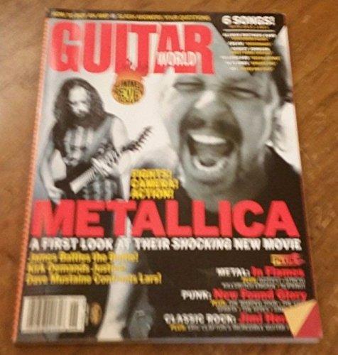 June 2004 GUITAR WORLD Magazine Vol 25 No 3 METALLICA- 1ST