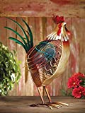 DecoBREEZE Large Rooster Figurine Fan Two-Speed Electric Circulating Fan
