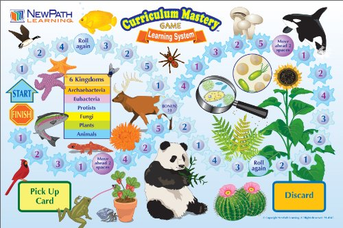 NewPath Learning Plants and Animals Curriculum Mastery Game, Grade 3-5, Class Pack