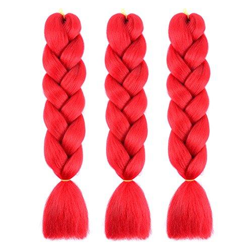Scarlet Hair Color - Bai You Mei 3pcs/lot 24