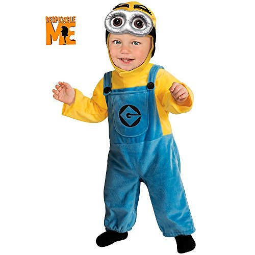 Despicable Me 2 Costumes For Babies (Minion Dave (Despicable Me) - Toddler Costume 1 - 2 years by Rubies)