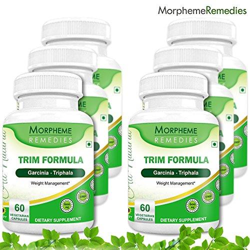 Морфема отделки салона Формула Капсулы для похудения - 500 мг Экстракт - 60 Вег капсулы - 6 Combo обновления