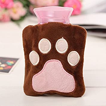 Amazon.com: Teddy Bear Paw Mini Bolsa de agua caliente ...