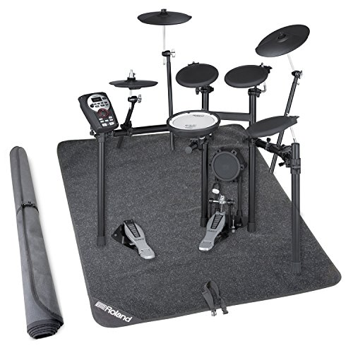 Mds 9 Stand (Roland TD-11K-S V-Compact Series Electronic Drum Set w/Stand and Non-Slip Drum Floor Mat)