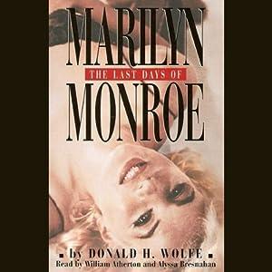 The Last Days of Marilyn Monroe Audiobook