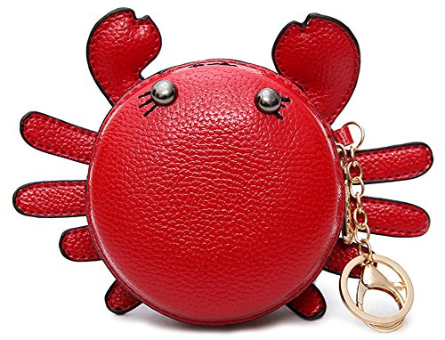 QZUnique Women's PU Leather Crab Shape Pendant Purse for sale  Delivered anywhere in USA