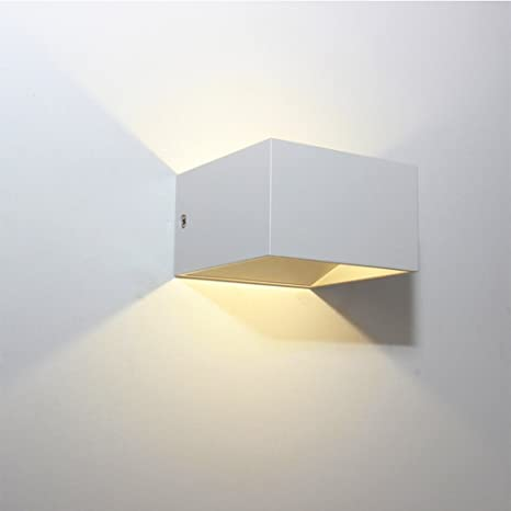 Amazon.com: SK Studio - Lámpara de pared LED (metal, diseño ...