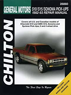 51nhsIRfBCL._AC_UL320_SR240320_ chevrolet & gmc s 10 & s 15 pick ups repair manual, 1982 thru 1993