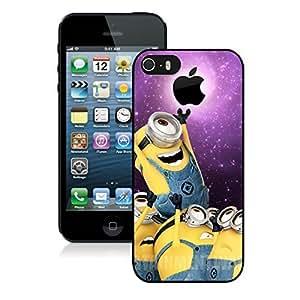 Despicable Me Minions Apple iPhone 6 plus Case Cover #196 plus Black