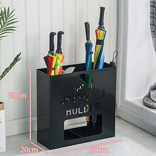 Color : E LPYMX Umbrella Storage Rack Wrought Iron Umbrella Bucket