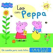 Un cuento para cada letra: j, ge, gi, ll, ñ, ch, x, K, w, güe/güi (Leo con Peppa 5)