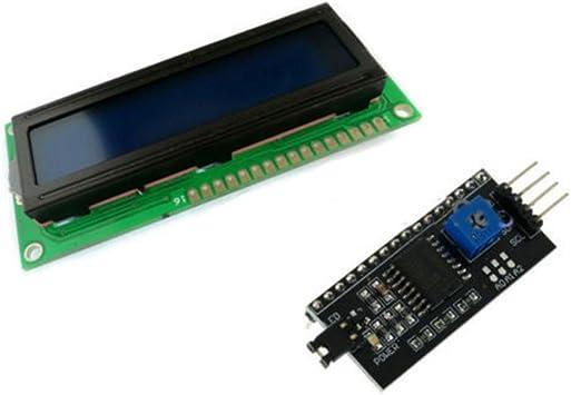 Yellow Display IIC//I2C//TWI//SPI Serial Interface 1602 16X2 LCD Module
