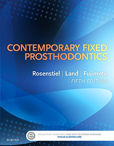 Contemporary Fixed Prosthodontics, 5e by Mosby