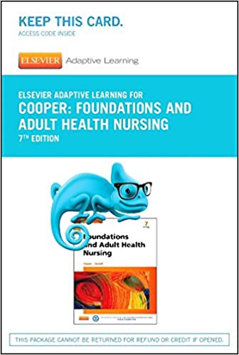 Elsevier Adaptive Learning for Foundations and Adult Health Nursing (Access Code), 7e
