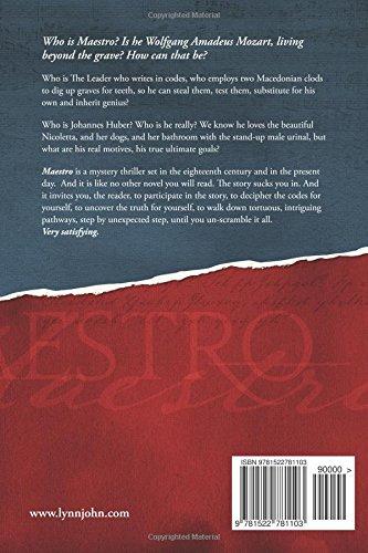 Maestro: A mystery novel: Lynn John: 9781522781103: Amazon ...