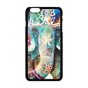 Colorful flowers elephant Cell Phone Case for iPhone plus 6