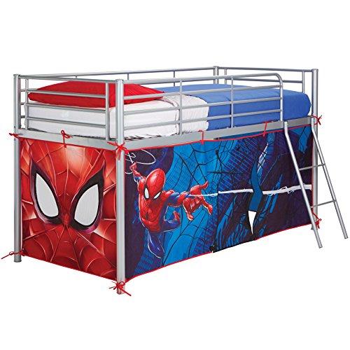 Spiderman Mid-Sleeper Bed - Bed Spiderman Toddler