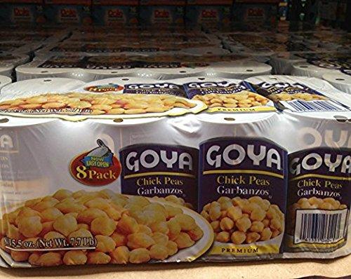 GOYA chick peas 8/15.5 oz by Goya