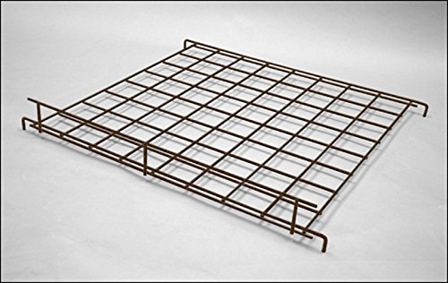 Count of 10 New Antique Bronze Finish Straight Grid Shelf 24'' X 24''