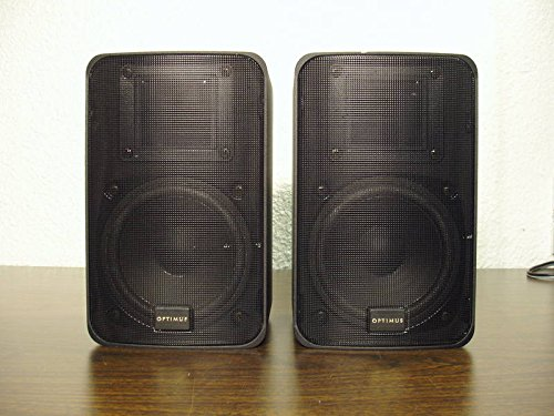 Optimus PRO-X88AV Die Cast Speakers w/polyprop. tw...