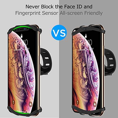 Amazon.com: VUP - Soporte de silicona para iPhone Xs/Xs Max ...