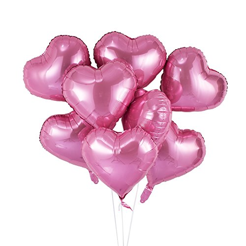 Pink Mylar Balloon - 6