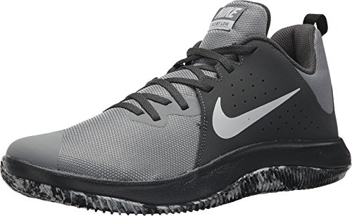 Nike Fly.by Low Mens Basketball Shoes (10 M US, Anthracite Pure Platinum Grey)