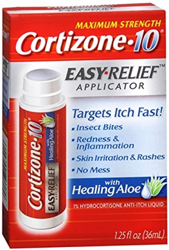 Easy Relief Applicator - Cortizone 10 Easy Applcto Size 1.25z Cortizone 10 Easy Relief Applicator With Healing Aloe 1.25oz