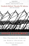 img - for <i>Group Experiment</i> and Other Writings: The Frankfurt School on Public Opinion in Postwar Germany book / textbook / text book