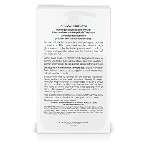 Neutrogena Norwegian Formula Intensive Moisture Wrap Body Treatment Ff, 10.5 Oz by Neutrogena (Image #6)