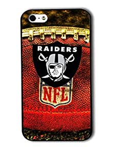 Tomhousomick Custom Design The NFL Team Oakland Raiders Case Cover For iPhone 4 4S Personality Phone Cases Covers