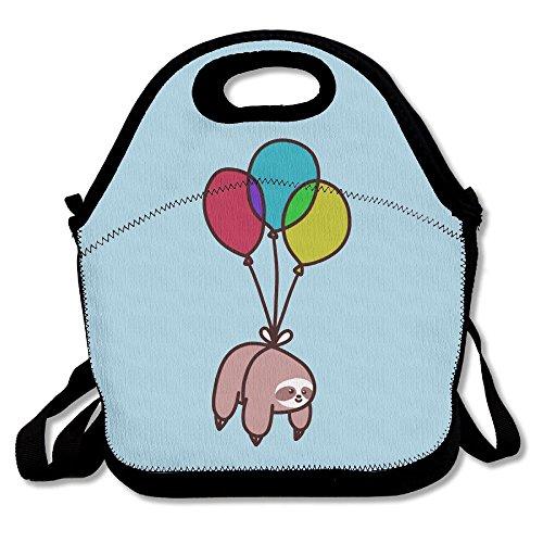 Mkajkkok Balloon Sloth Lunch Tote Lunch Bags With (Factory Wholesale Handbag)